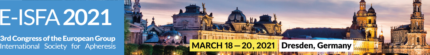 E-ISFA 2021 March 18 to 20 in Dresden